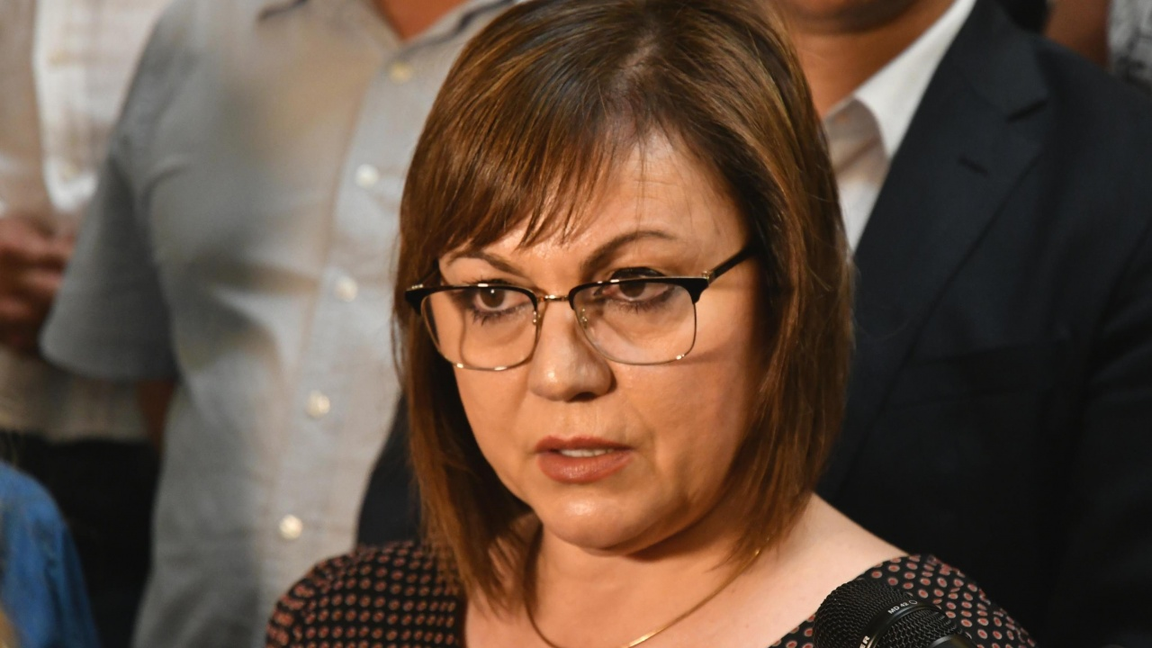 Нинова: Ако не проявим разум, ще върнем Борисов