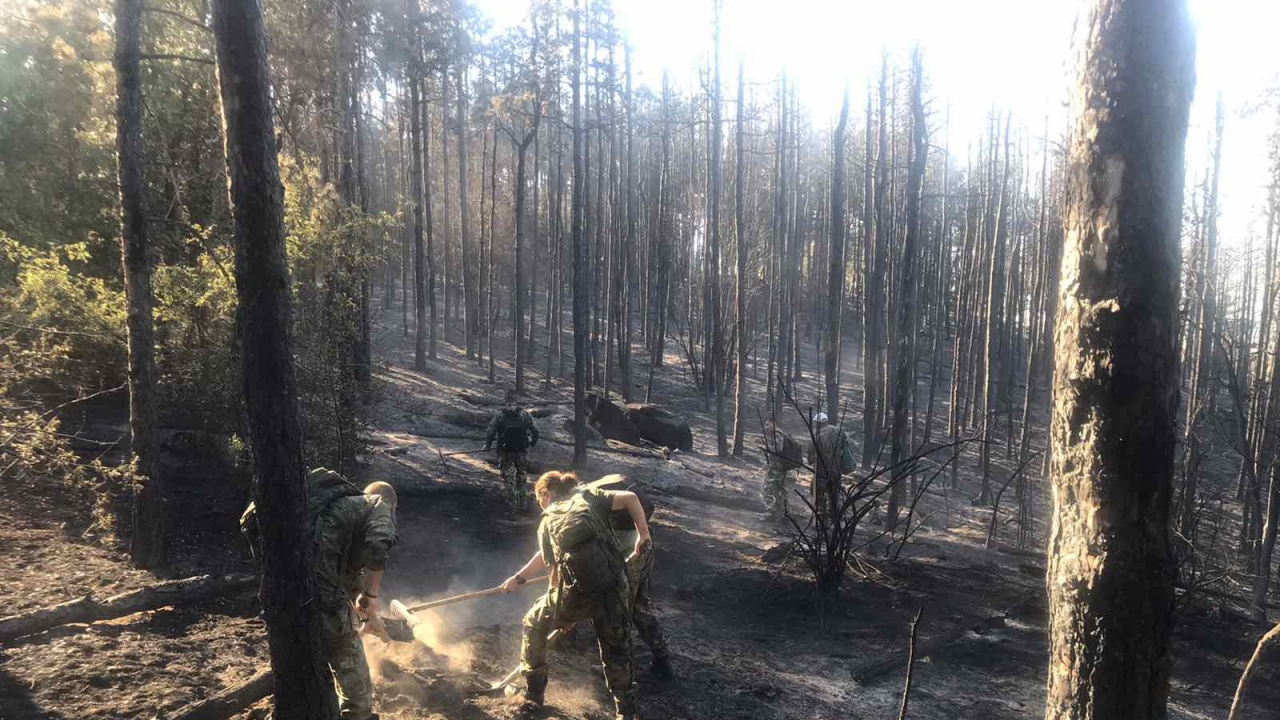 Военнослужещи от Българската армия в помощ на населението