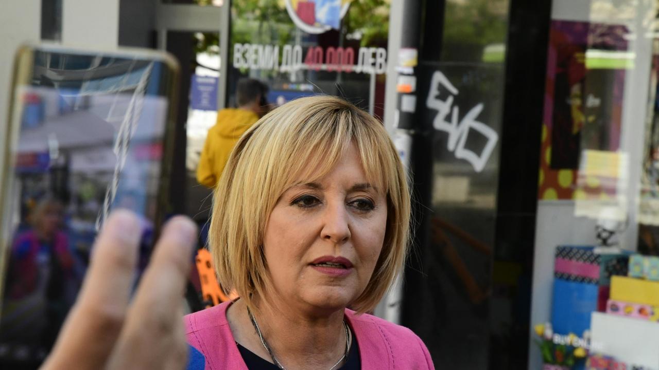 Мая Манолова: Не смятаме, че предложените министри от ИТН отговарят на стандарта, който гражданите очакват