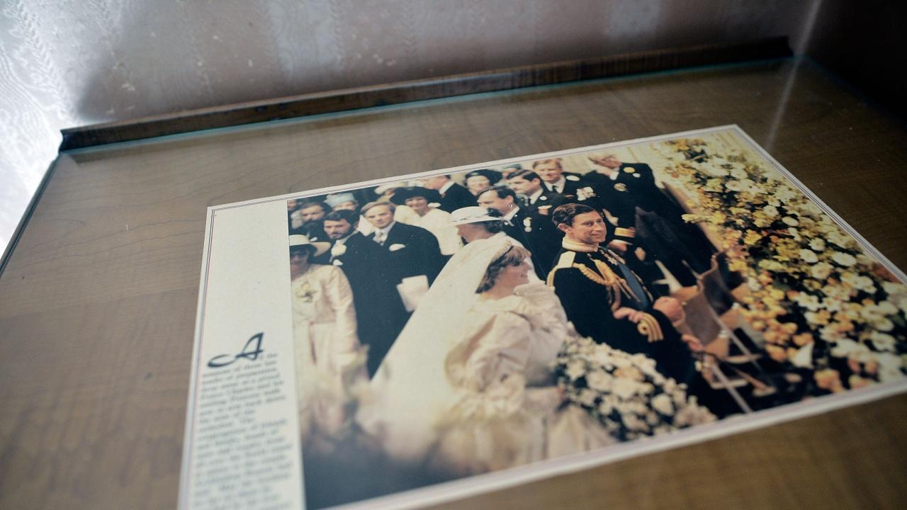 Продадоха на търг парче от сватбената торта на принцеса Даяна и принц Чарлз