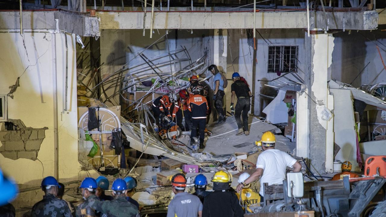 Земетресение с магнитуд 5,5 бе регистрирано край Филипините