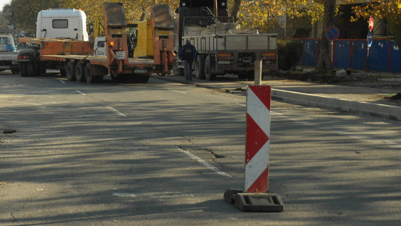 Липса на пари спря ремонта на пътя София - Перник