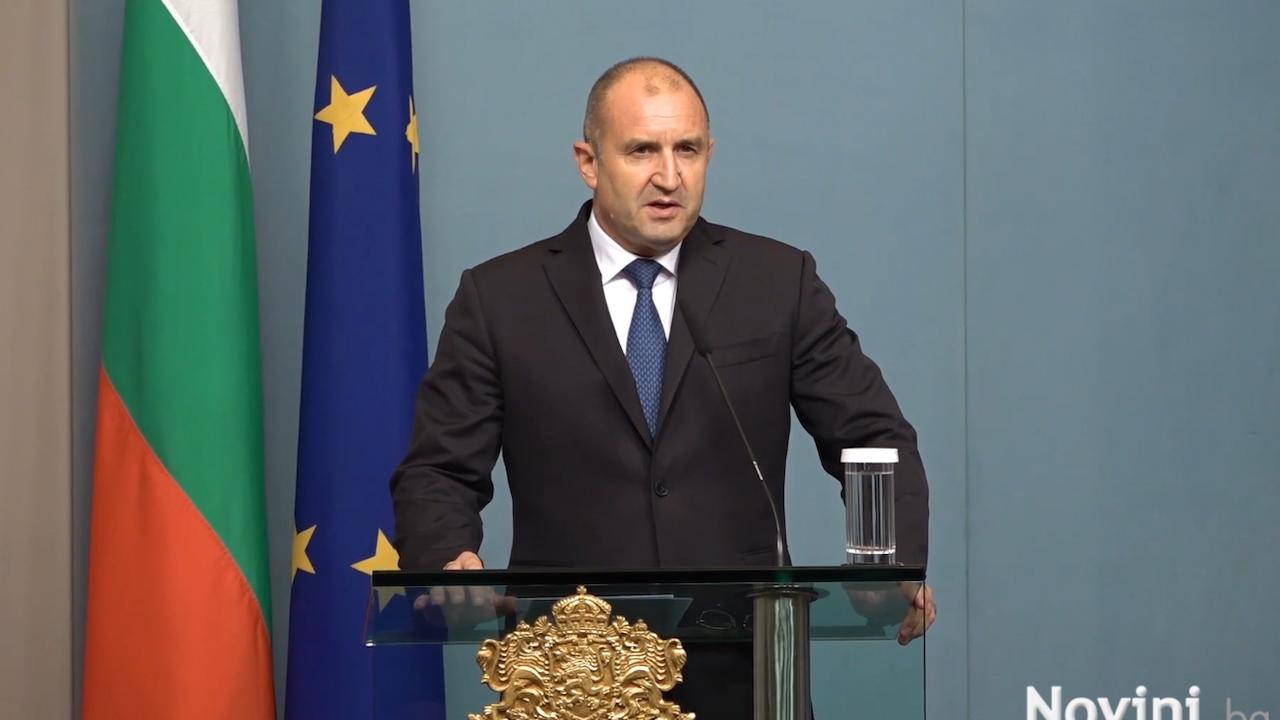 Румен Радев след КСНС: Въпреки проведените дискусии днес не постигнахме консенсус