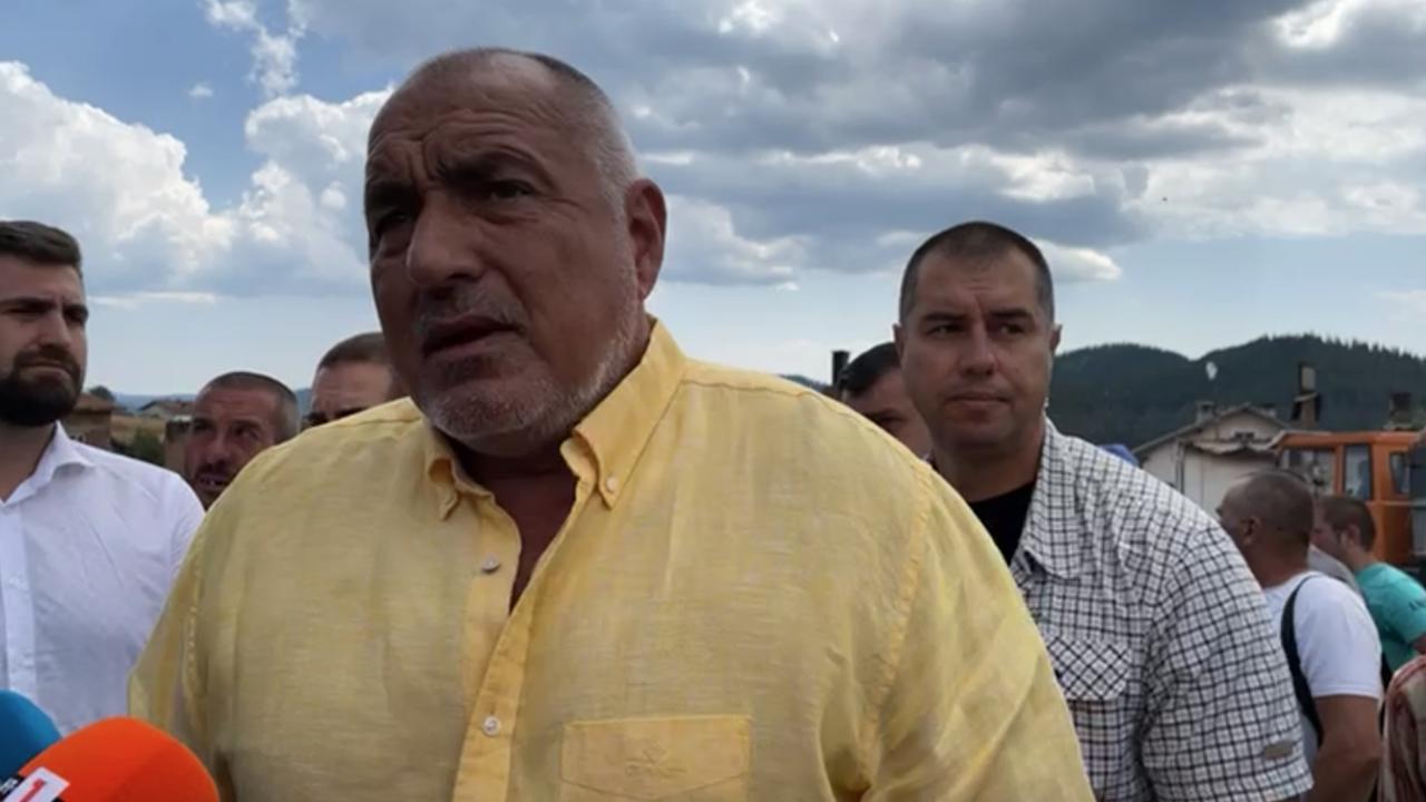 Борисов: Кабинетът на Радев е тежък провал, хората вече се осъзнават