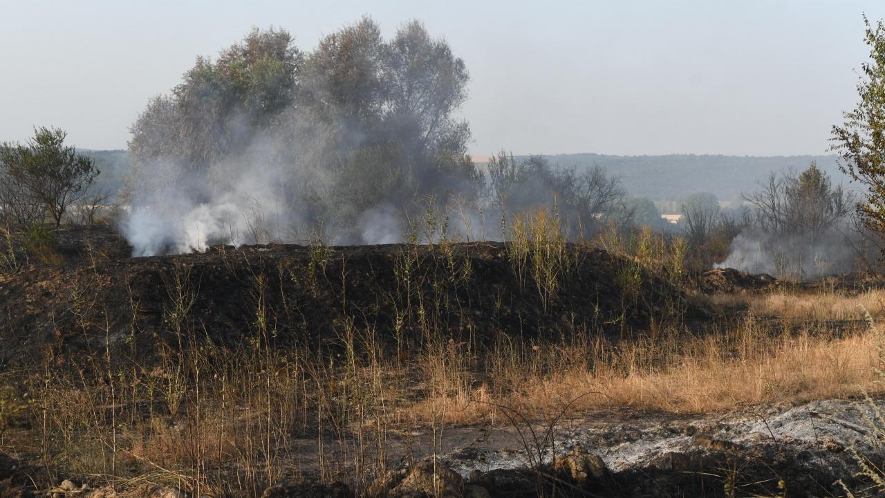 Продължава борбата с големия горски пожар над село Югово