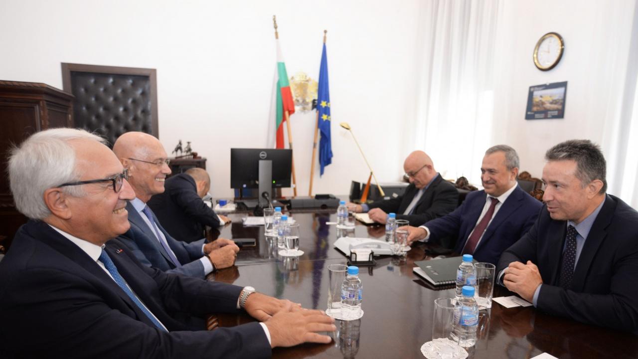 Янаки Стоилов се срещна с делегация от Гърция
