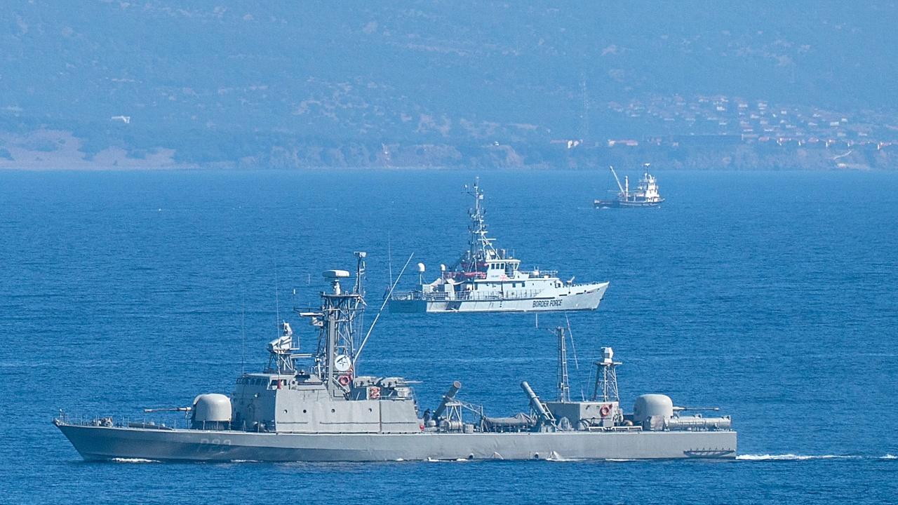 Товарен кораб потъна в Егейско море