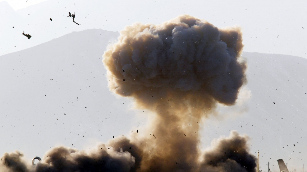 """Двама екстремисти от """"Ислямска държава"""" бяха убити при американския въздушен удар в Афганистан"""