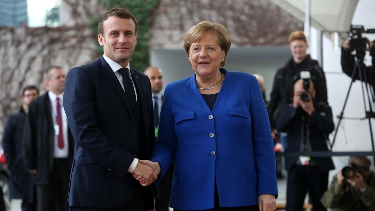 Меркел и Макрон разговаряха по телефона