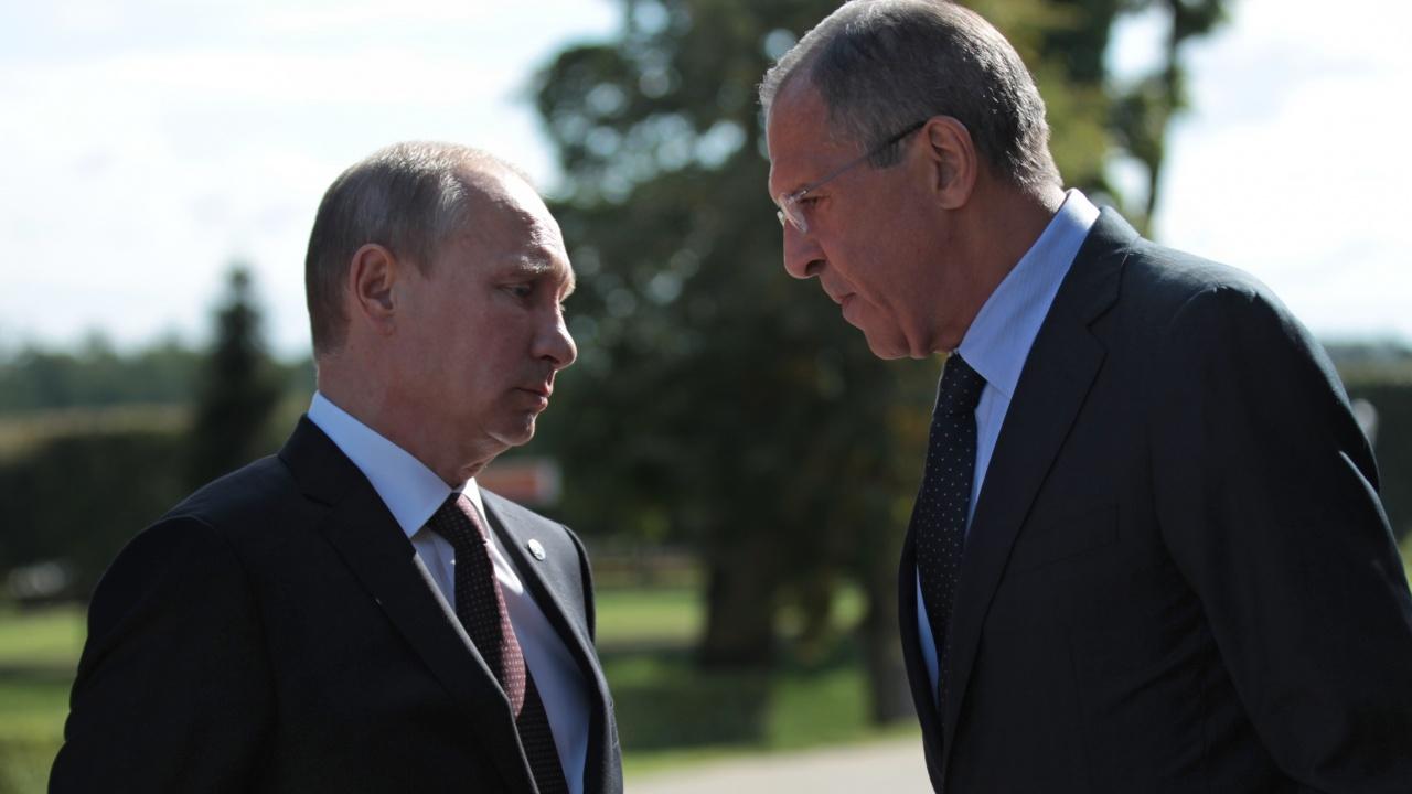 Сергей Лавров разкри какво предложение е получил от Владимир Путин