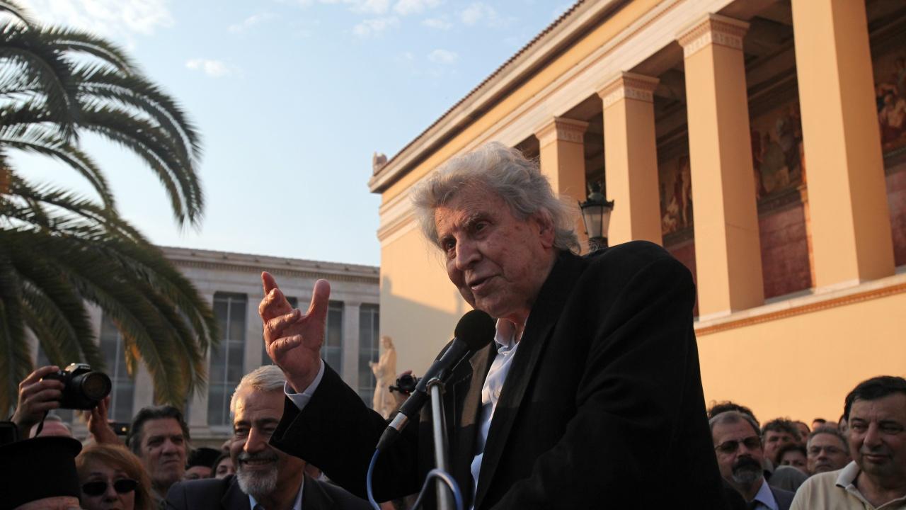 Почина легендарният композитор Микис Теодоракис