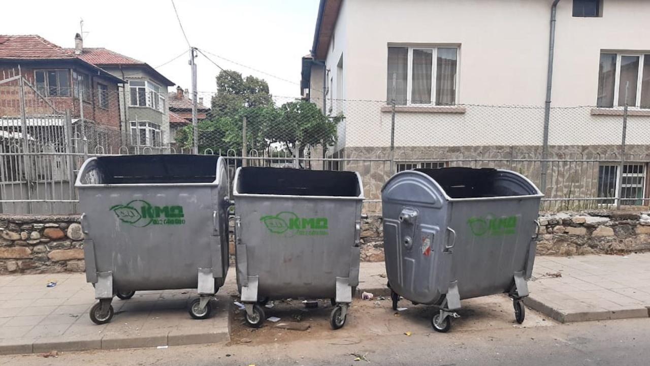 Община Асеновград постави допълнително контейнери за отпадъци