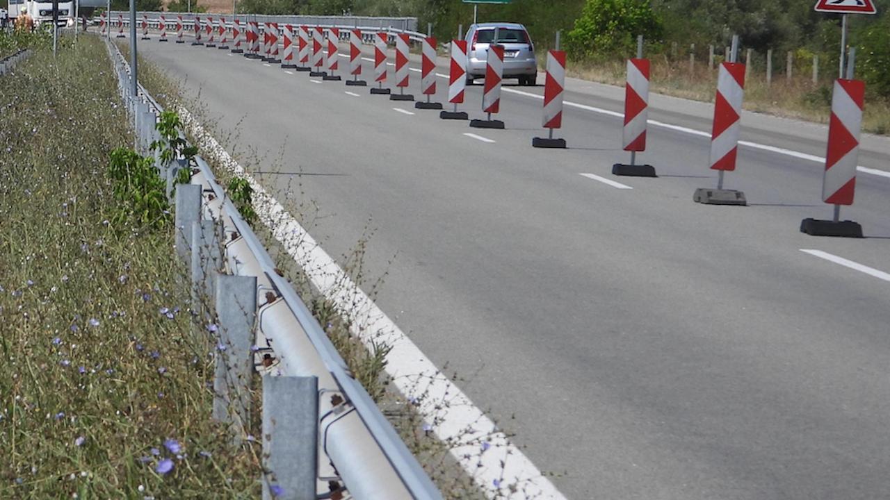 """Започва ремонт на 6 км от АМ """"Марица"""" в участъка от Капитан Андреево до Свиленград"""