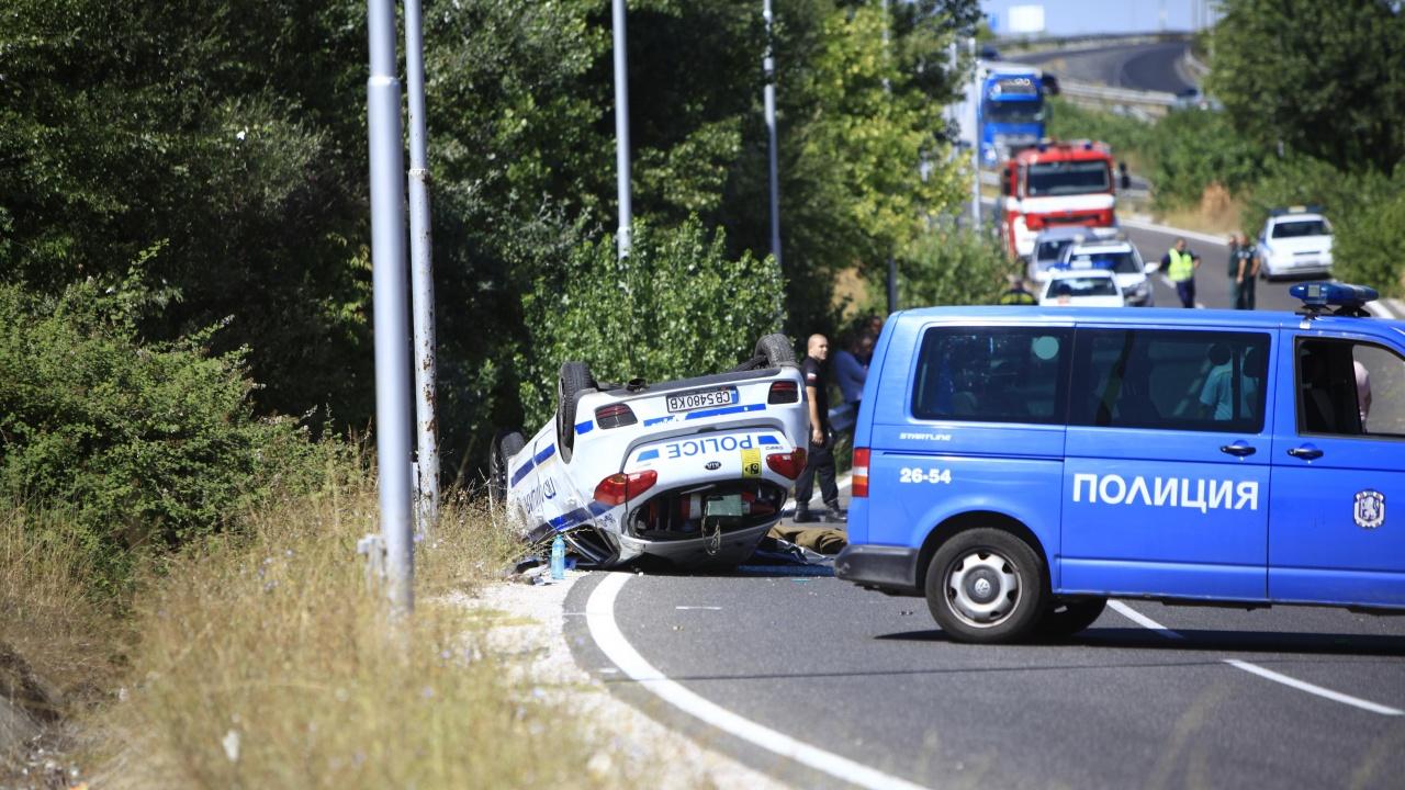 """Разкриха подробности за катастрофата със загинал полицай до """"Капитан Андреево"""""""