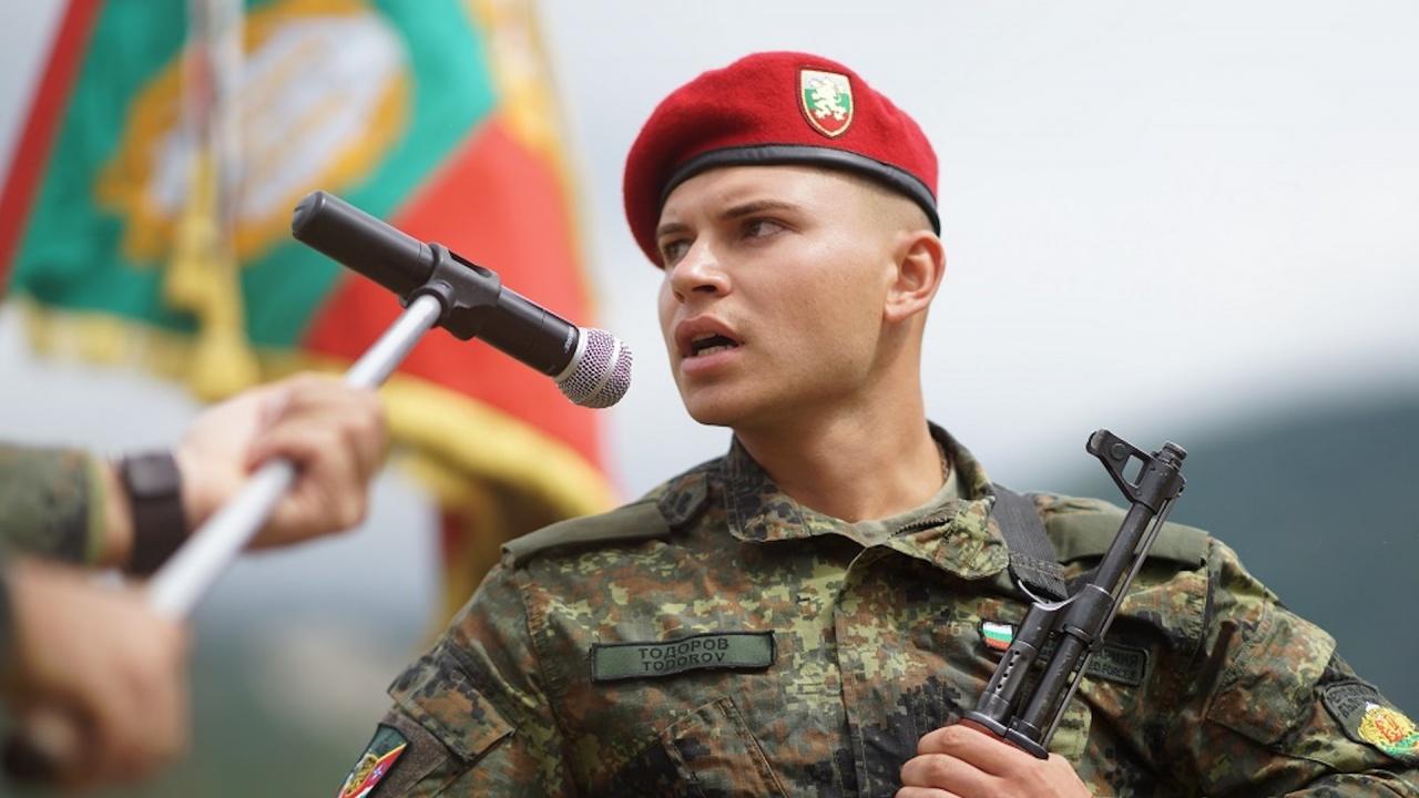 152 новоназначени военнослужещи в Българската армия тържествено положиха военна клетва