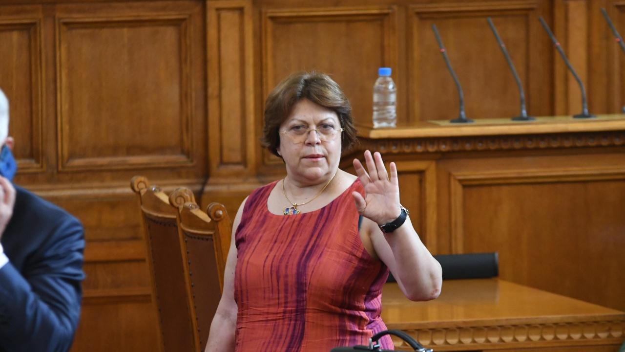 Татяна Дончева за думите Тошко Йорданов: Абсолютни бълнувания