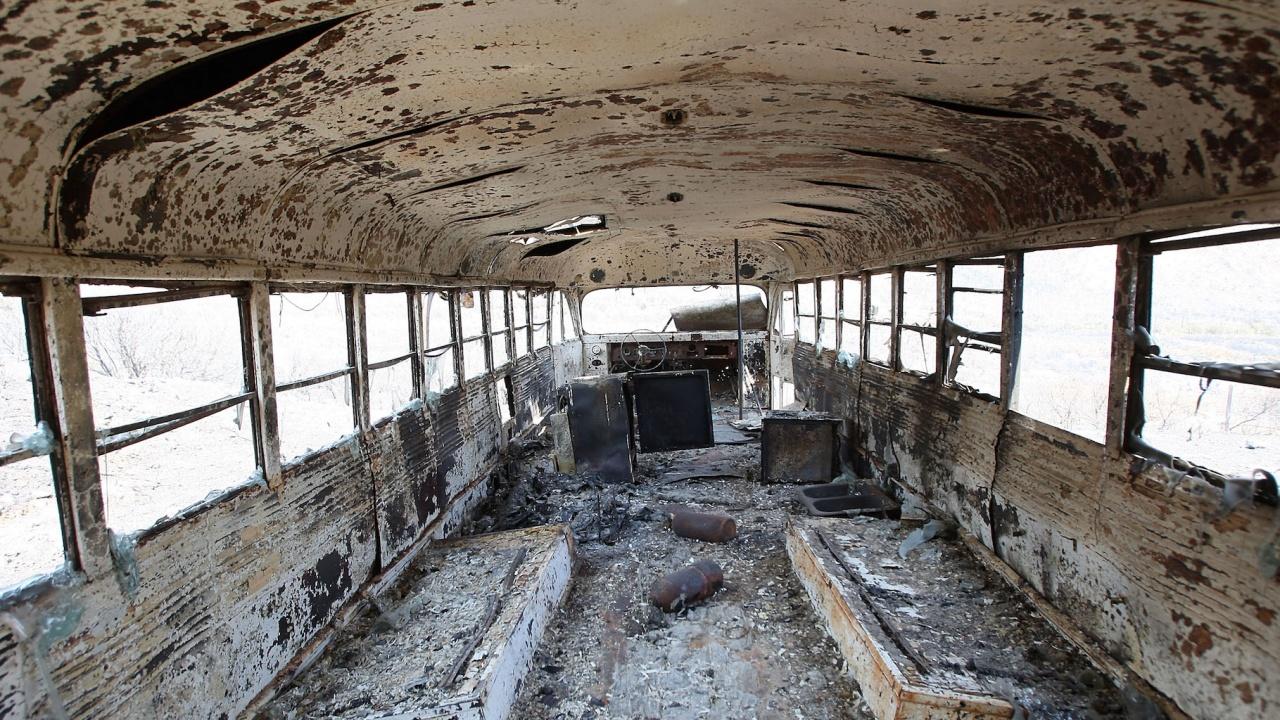 Дванадесет души загинаха в катастрофа с автобус в Египет