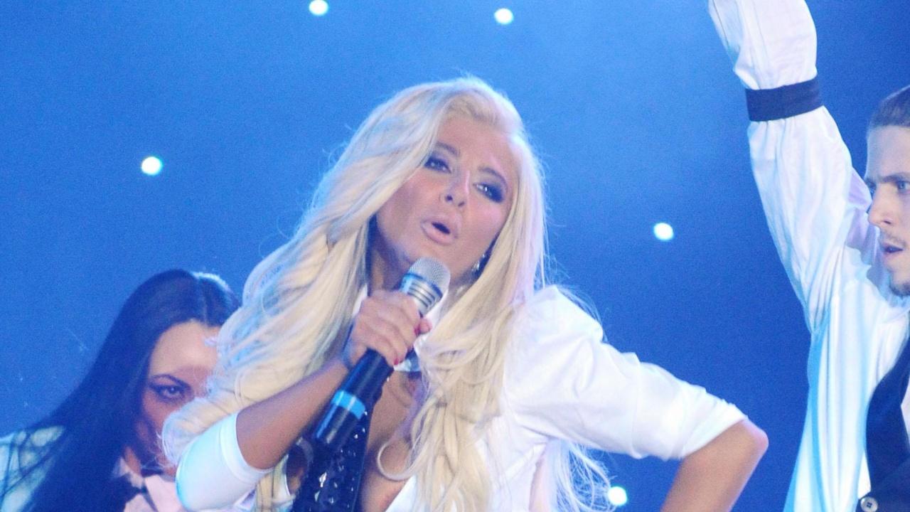Андреа се похвали с международен хит