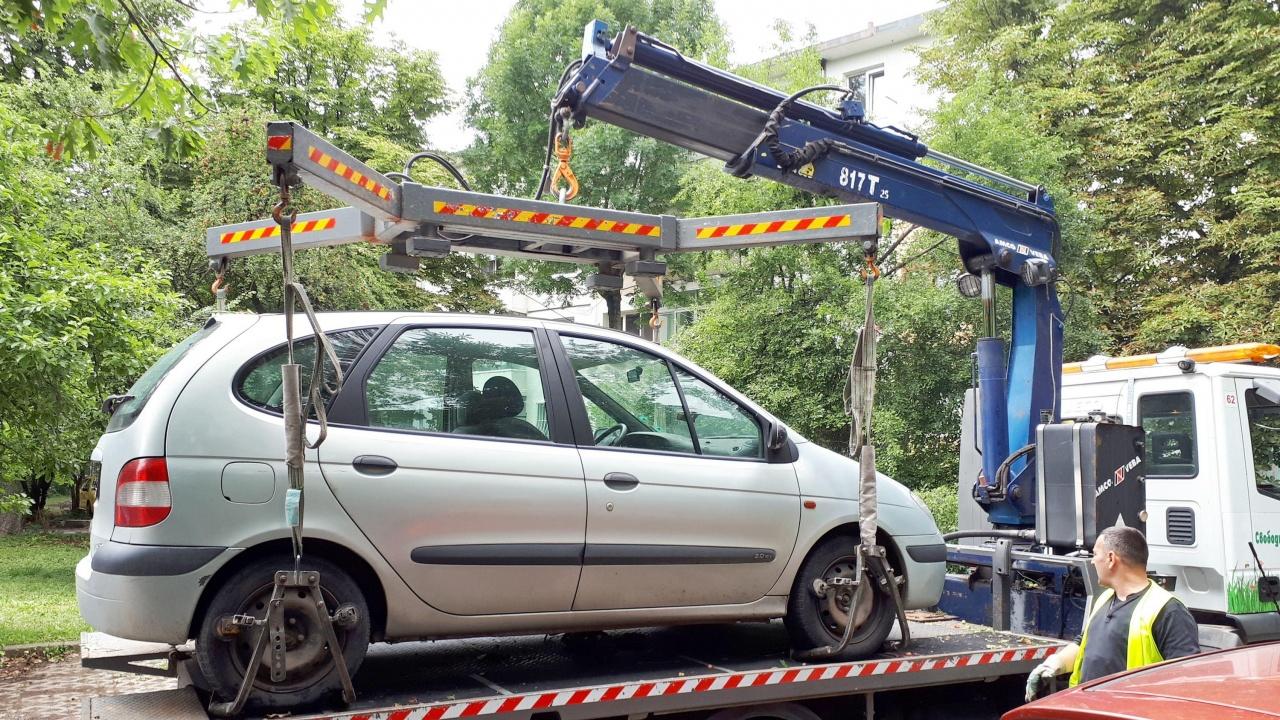 Над 41 хил. фиша за неправилно паркиране са наложени през 2021 г. в София