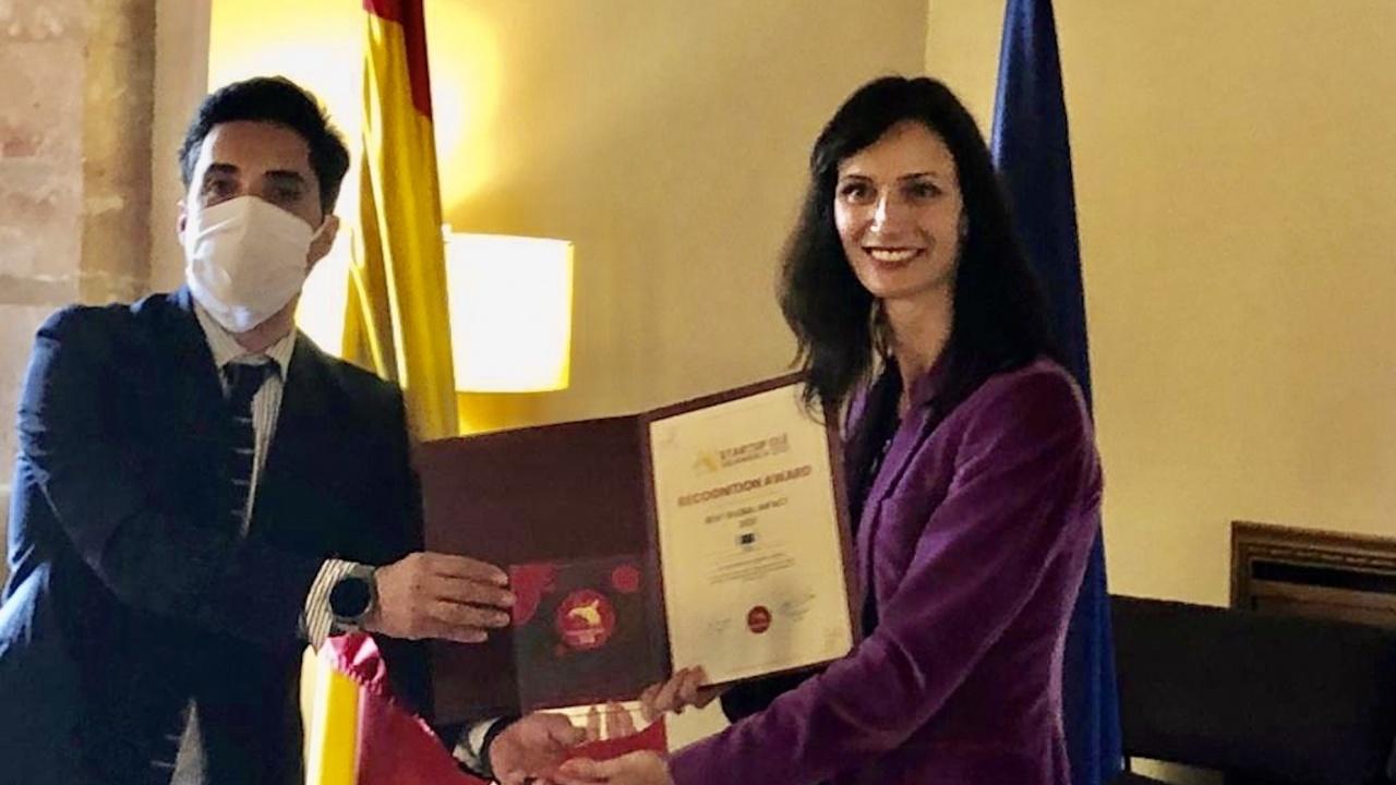 Отличиха Мария Габриел като политик с най-добро глобално въздействие в подкрепа на стартъпите