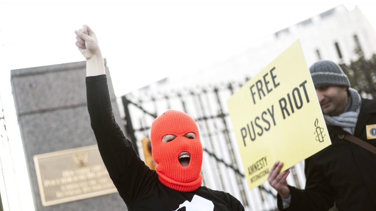 """Руски съд осъди активистка от групата """"Пуси райът"""" за призив към протест в подкрепа на Навални"""