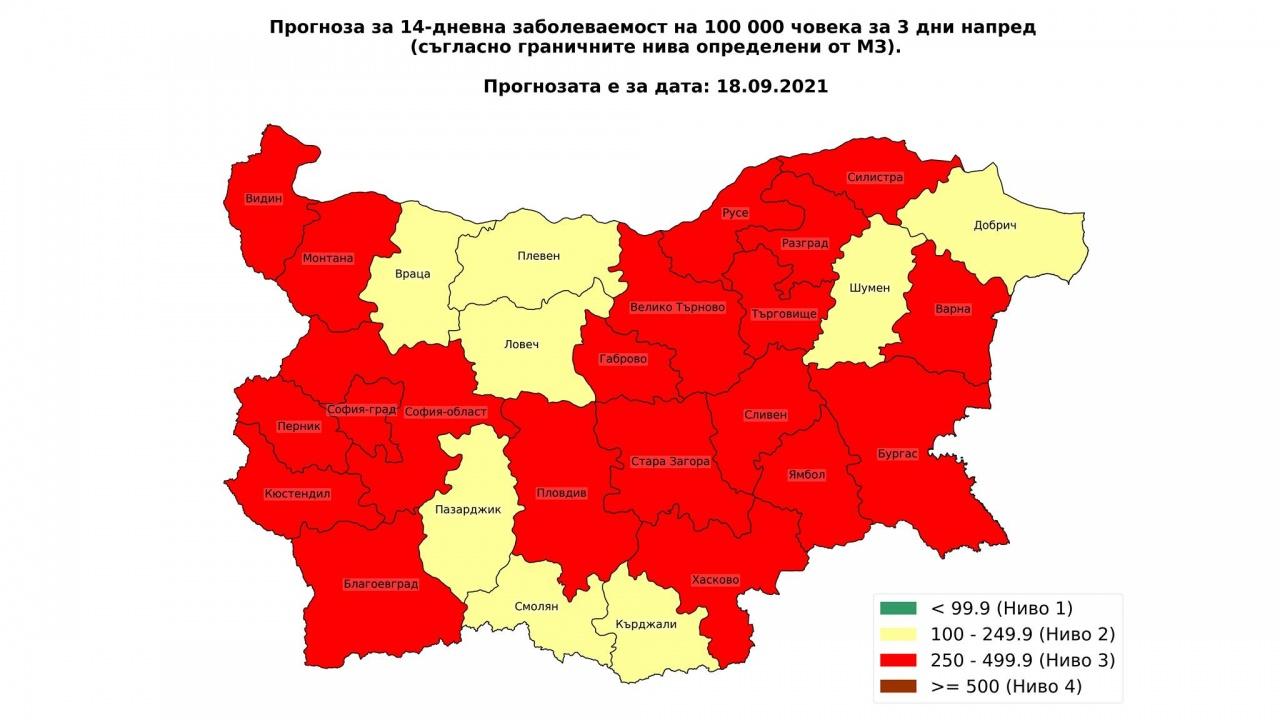 Математикът проф. Николай Витанов: София влезе в червената зона