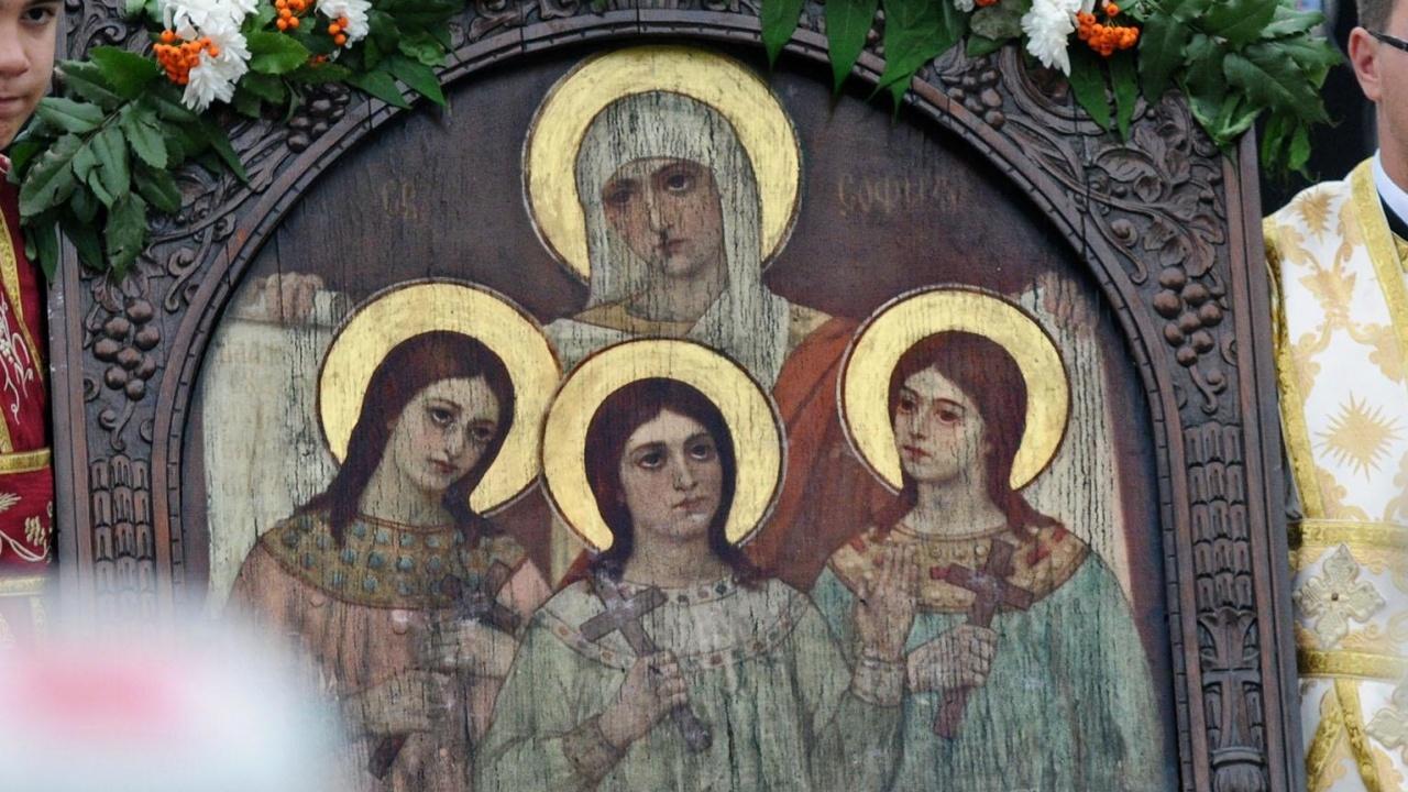Църквата почита Вяра, Надежда, Любов и майка им София