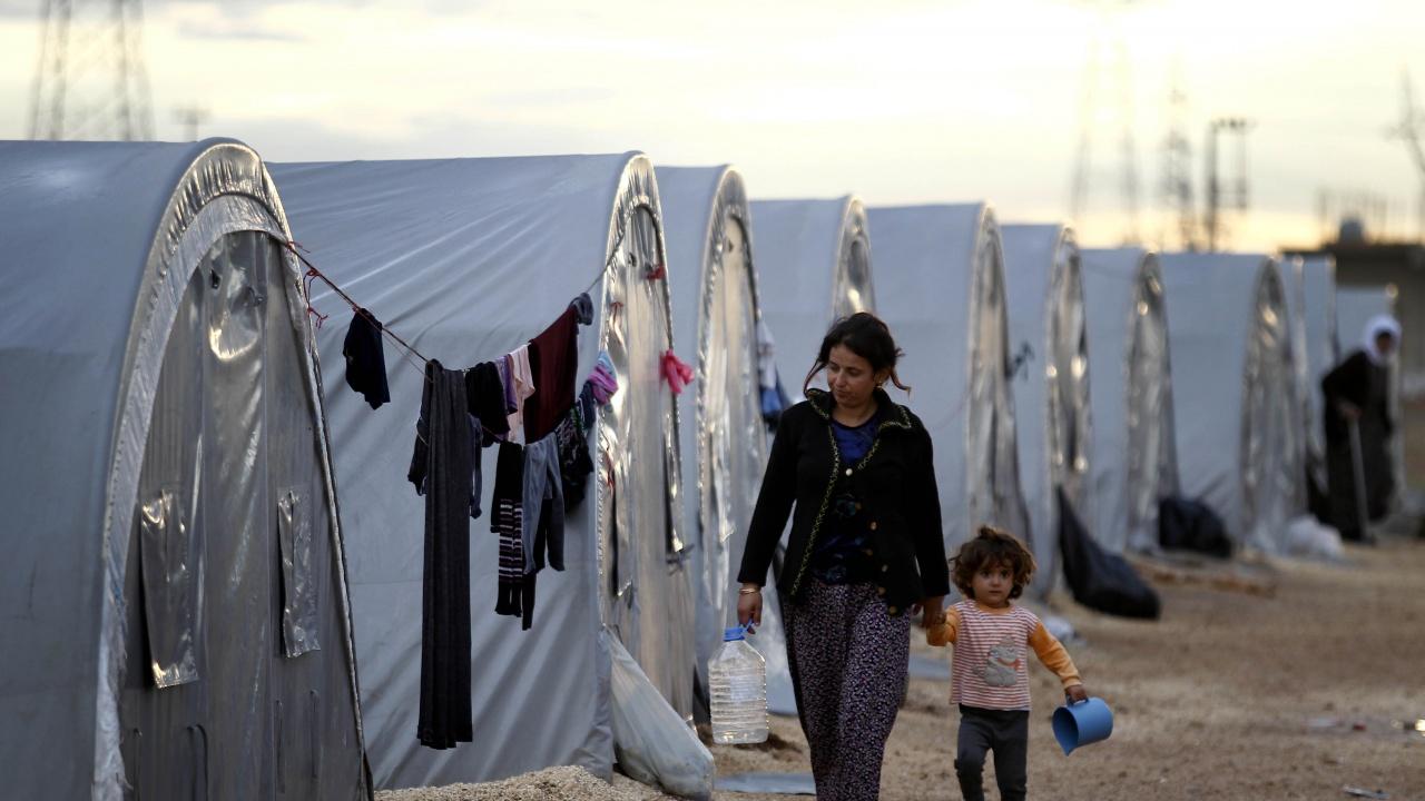 На гръцкия остров Самос беше открит нов бежански лагер