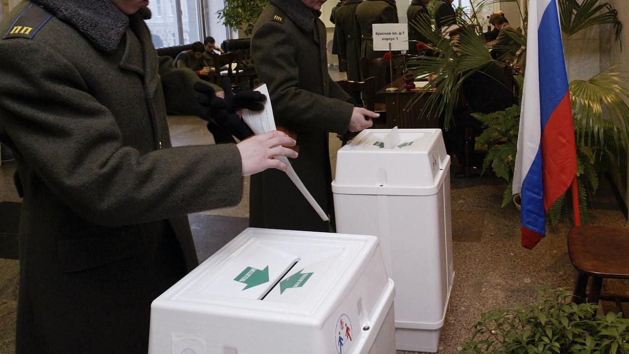 """Партия """"Единна Русия"""" е на път да запази парламентарното си мнозинство"""