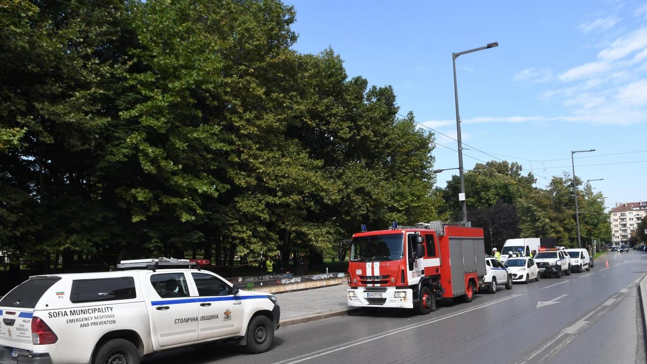 Опасна находка накара полицията да отцепи район до НДК