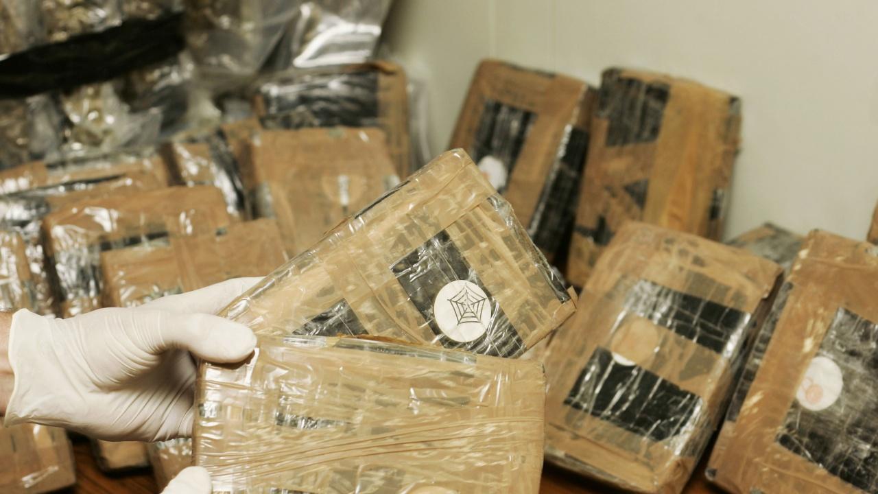 Рекордно количество кокаин е задържан в Гърция през миналата година