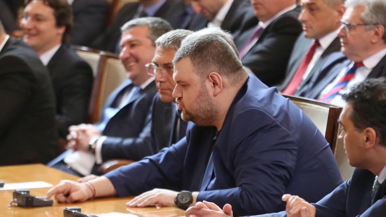 "Делян Пеевски е подал втора жалба срещу наложените му санкции по закона ""Магнитски"""