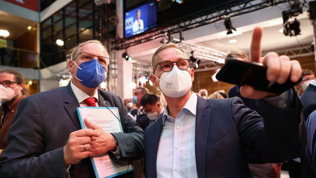 Проучвания екзит пол показват изравнена надпревара за кмет на Берлин