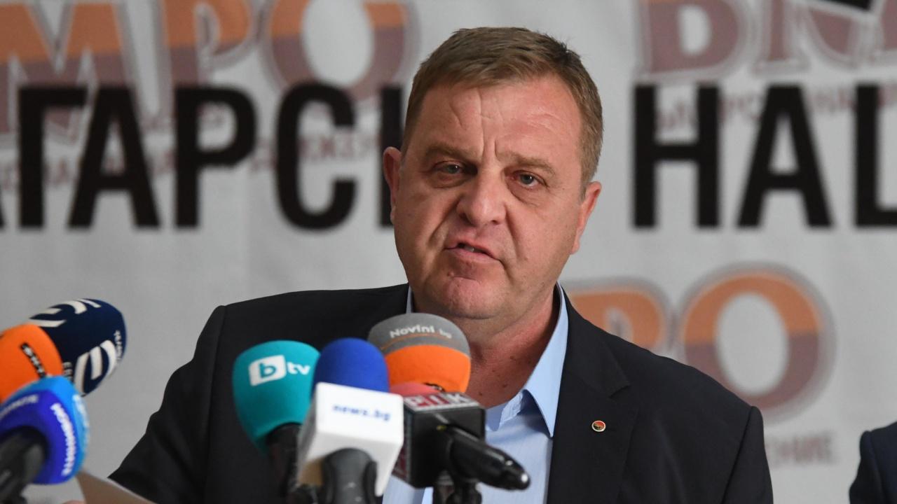 Каракачанов категоричен: ВМРО ще се яви самостоятелно на изборите за парламент