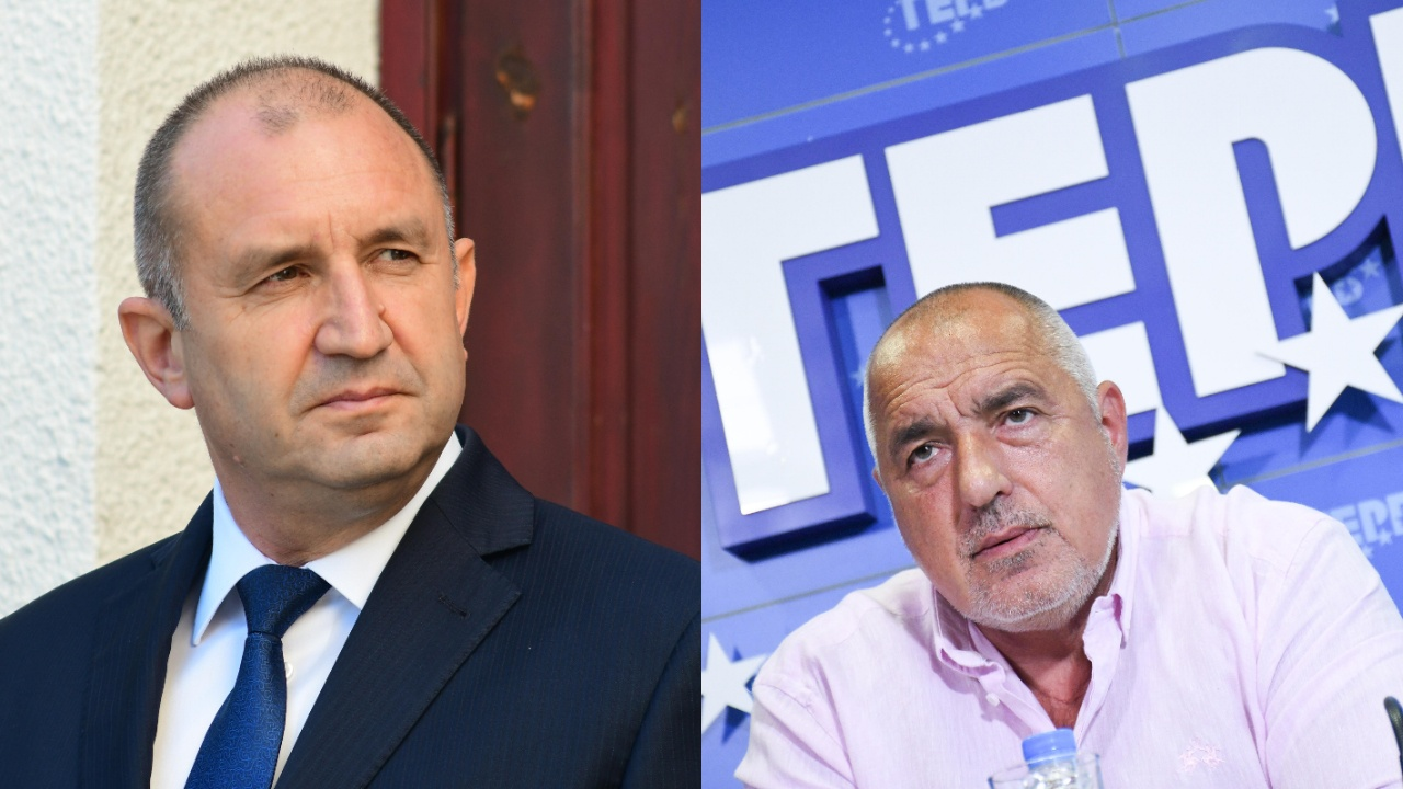 Радев предизвика Борисов на президентски дуел: Стига се е крил зад партията си