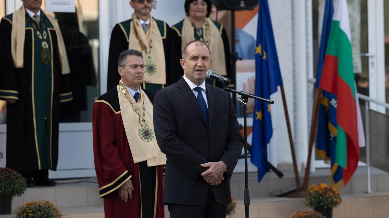 Радев: Напредъкът ни като общество зависи от начина, по който опазваме природните богатства на България
