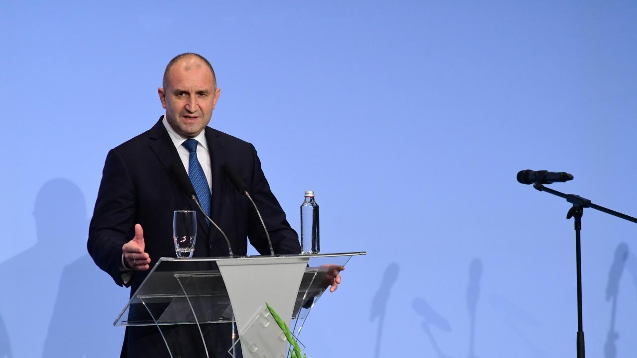 Румен Радев: Президентството се утвърди като стълб на стабилност и държавност