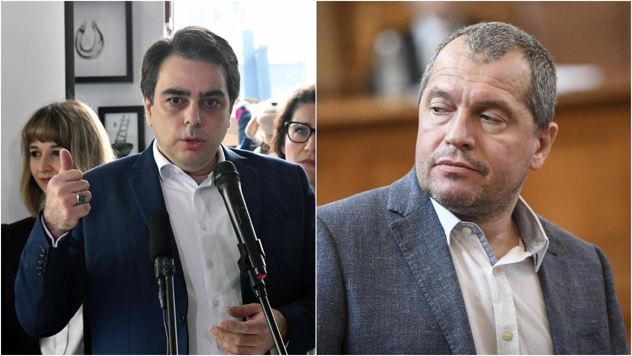 Асен Василев с тежки финансови претенции към Тошко Йорданов заради клеветническите му твърдения