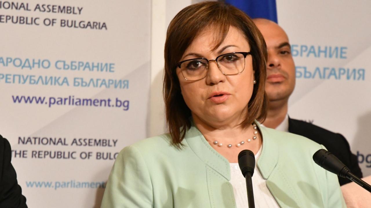 Нинова: Мерките на правителството са неадекватни на тежката ситуация