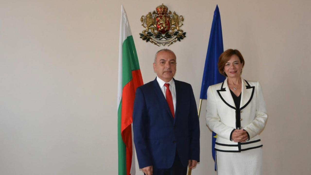 Министър Донев се срещна с посланика на Турция