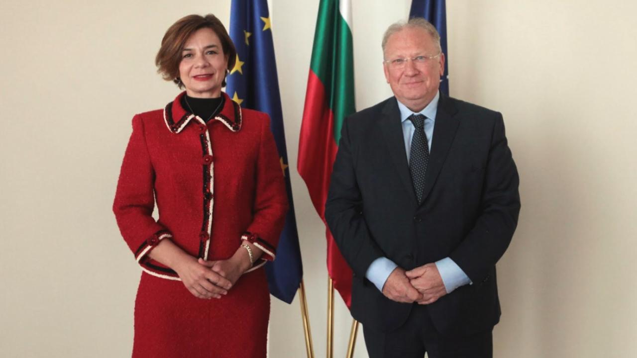 Министър Стоев прие посланика Турция