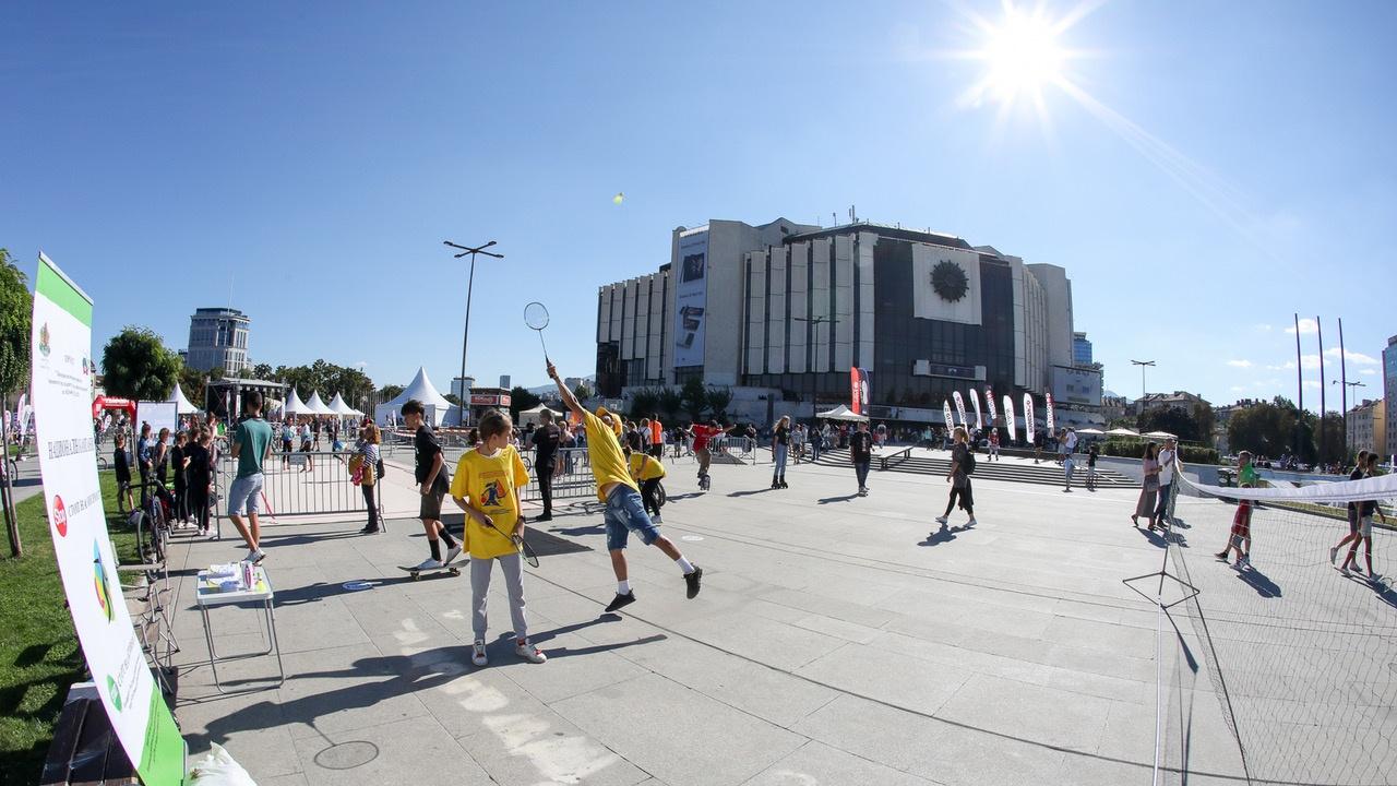 Хиляди българи спортуваха в #BeActive  Европейска седмица на спорта 2021