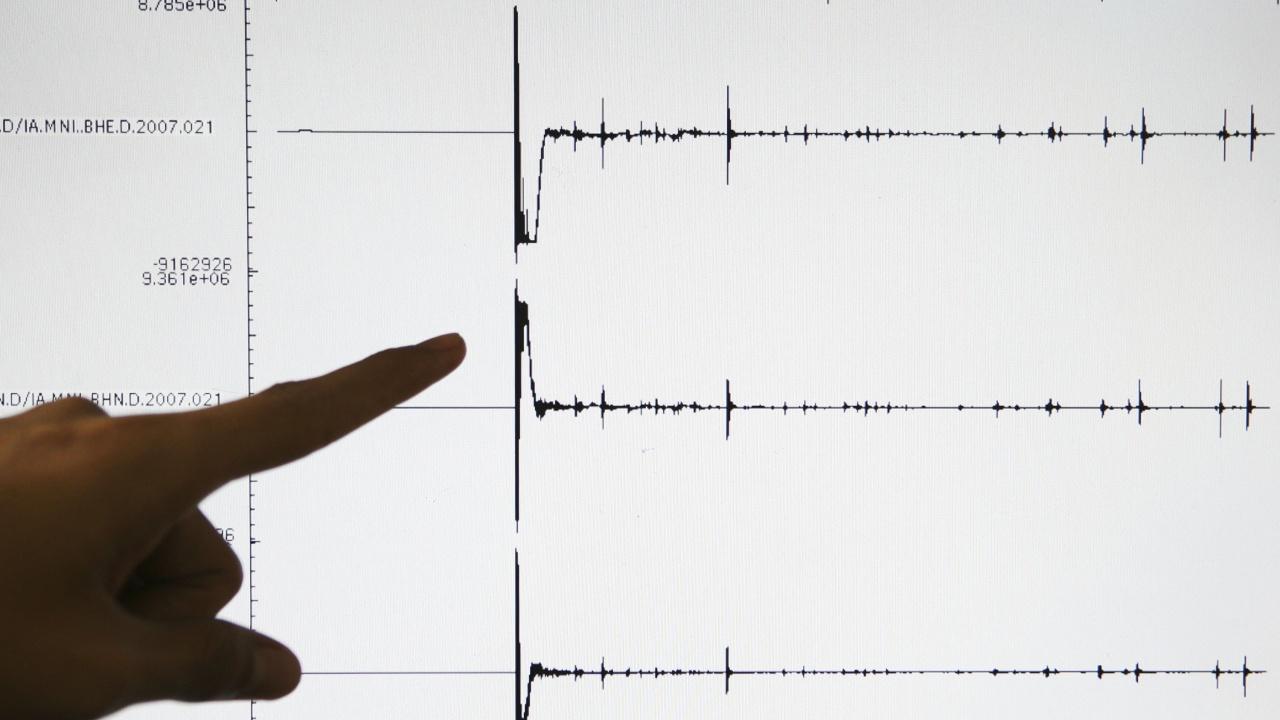 Слабо земетресение беше регистрирано в София