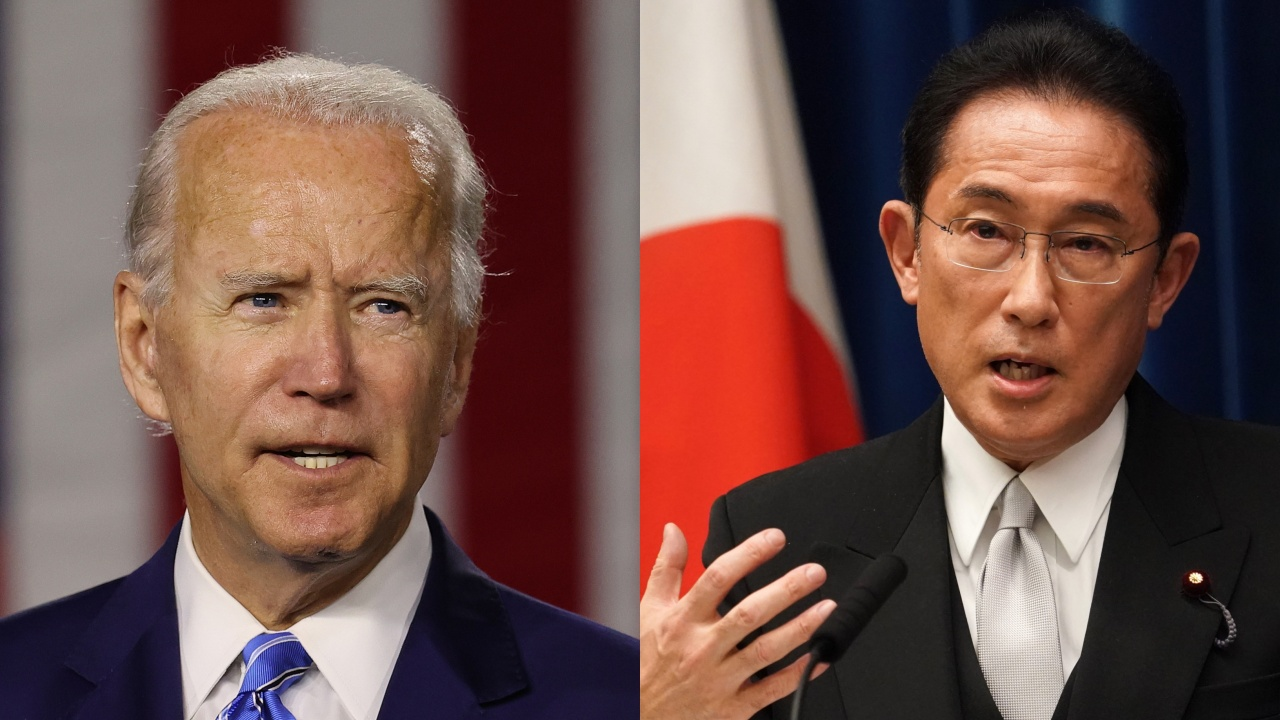 Байдън поздрави днес новоизбрания премиер на Япония Фумио Кишида