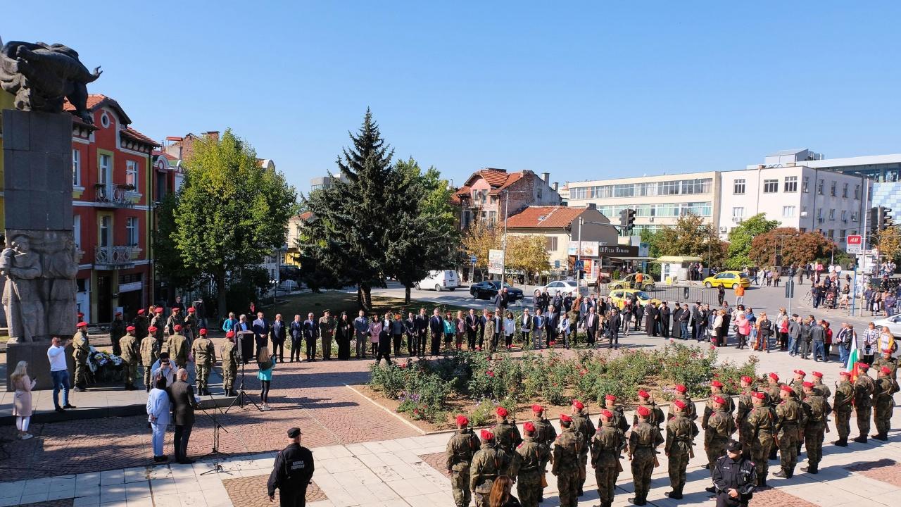 Благоевградчани отбелязаха 109 години от освобождението на Горна Джумая