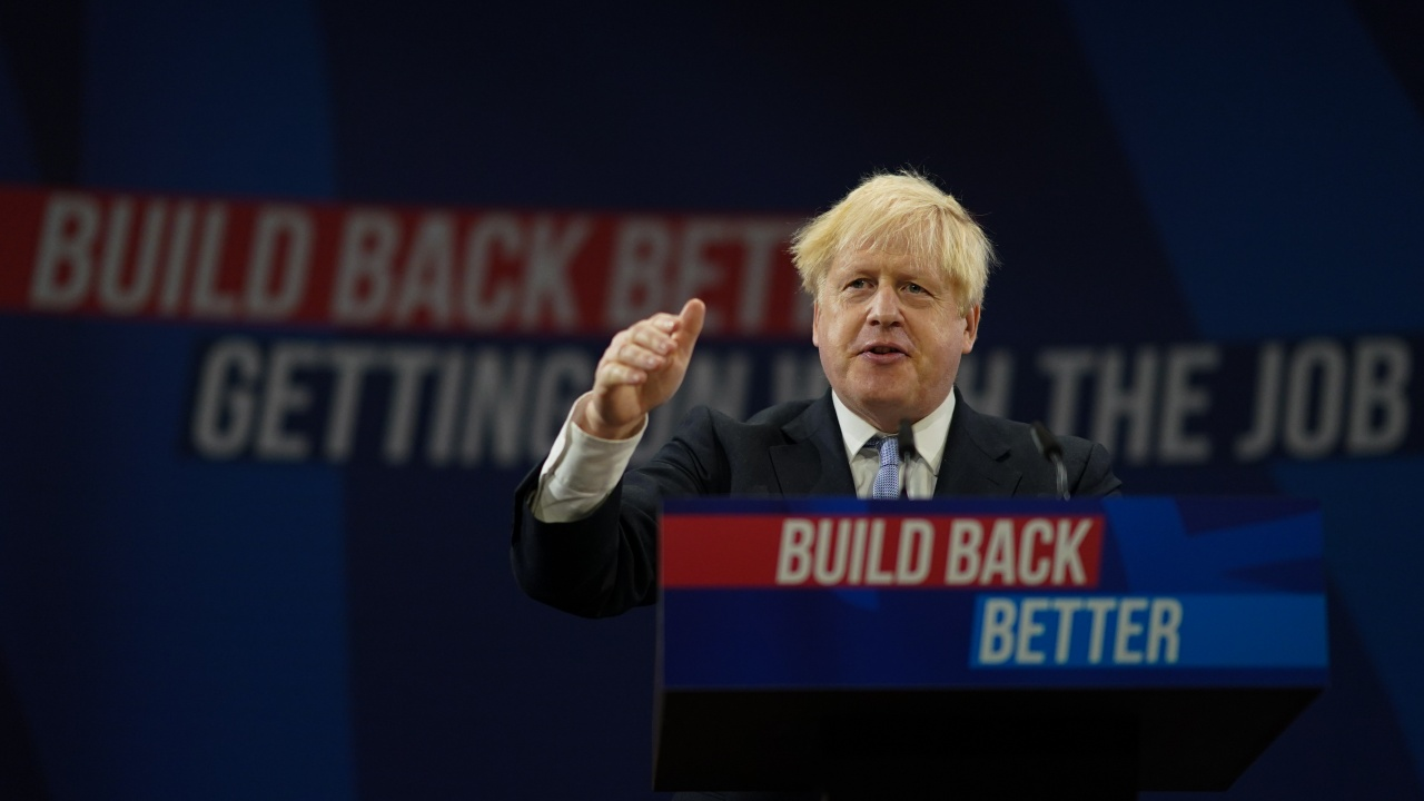 Борис Джонсън представи оптимистична визия за бъдещето на Великобритания след Брекзит и COVID-19