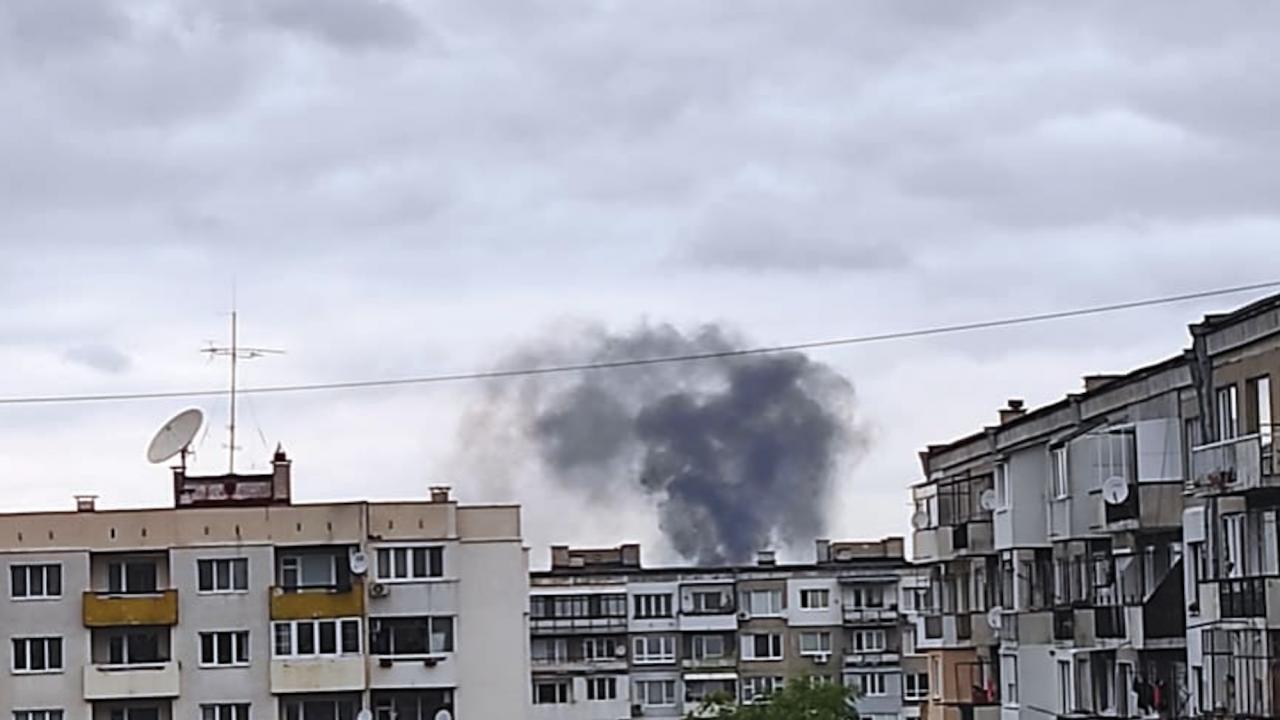 """Голям пожар в столичния район """"Изгрев"""""""