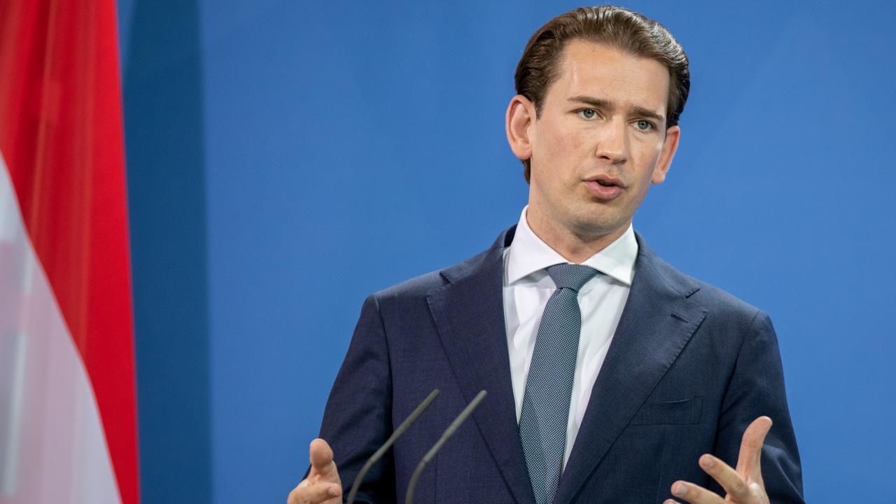 Австрийският канцлер Себастиан Курц иска да остане на поста си