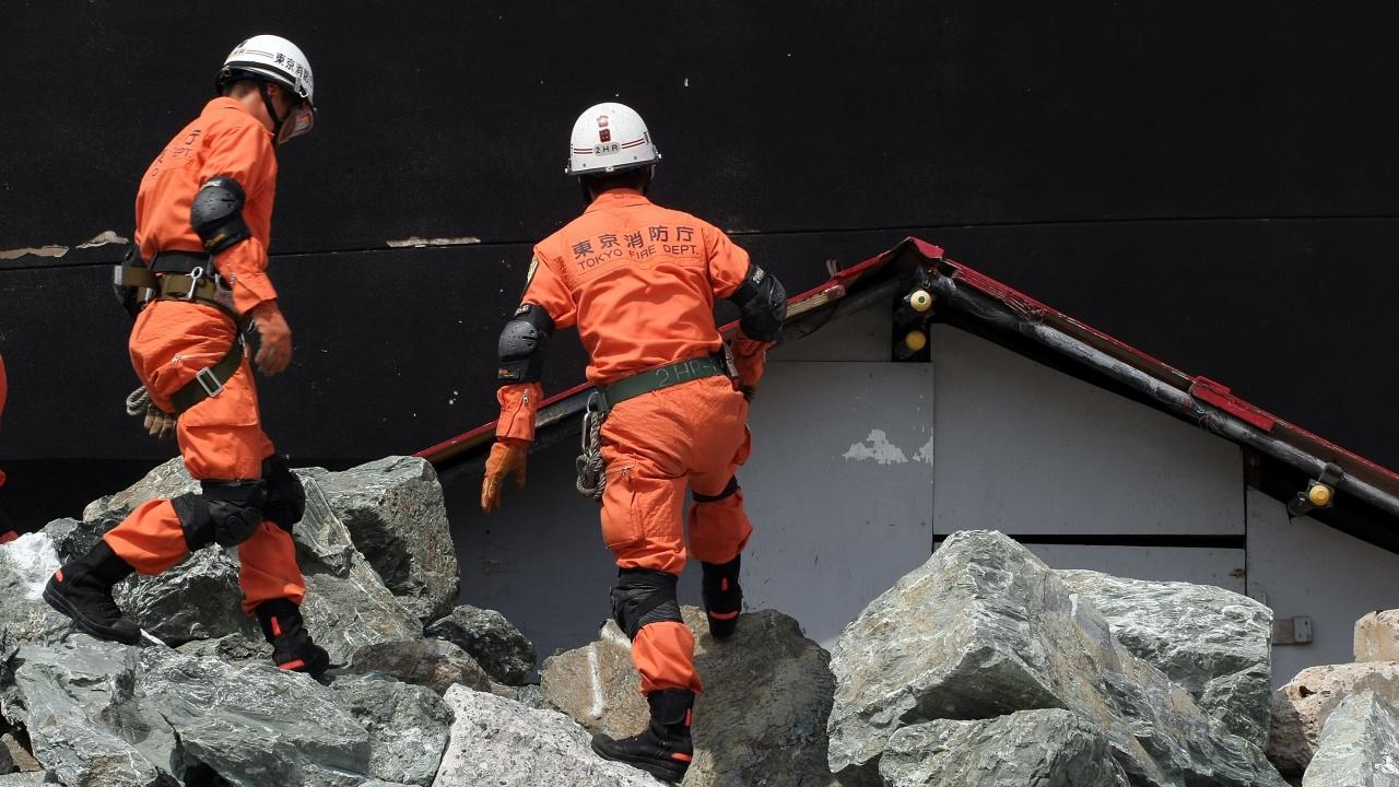 24 са вече пострадалите при силното земетресение, разтърсило Токио