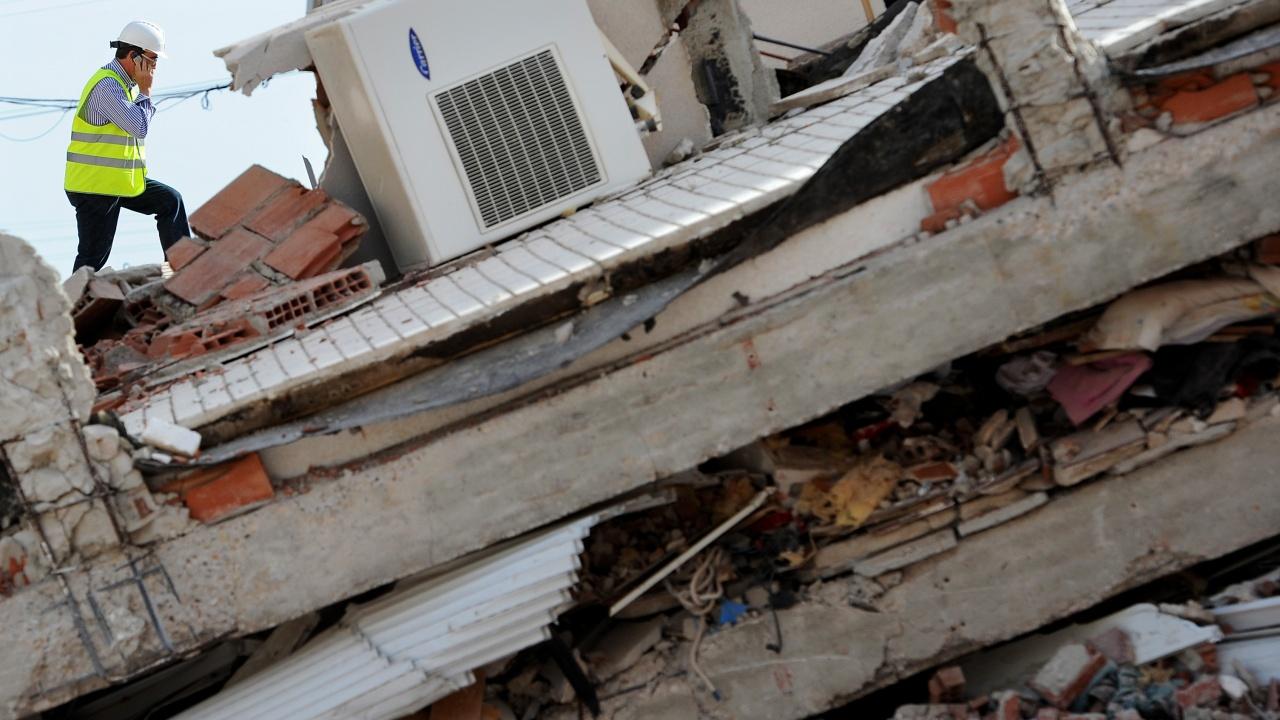 Жилищна сграда се срути в Грузия